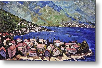 Sardinia On The Blue Mediterranean Sea Metal Print by Rita Brown