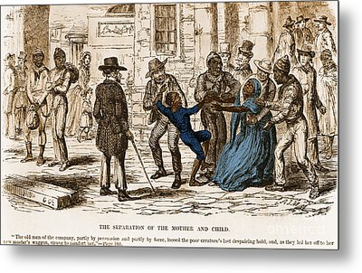 Scene From Uncle Toms Cabin Metal Print by Photo Researchers