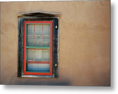 School House Window Metal Print