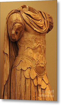 Sculpture Olympia 2 Metal Print by Bob Christopher
