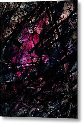 Sea Monster Metal Print by Rachel Christine Nowicki