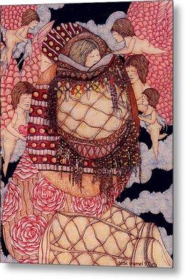 Secret Metal Print by Dede Shamel Davalos