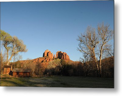 Sedona 017 Metal Print by Earl Bowser