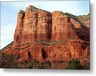 Sedona Red Metal Print