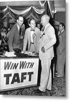 Senator Robert Tafts Two Sons Promote Metal Print by Everett