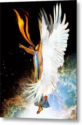 Seraph Calls Out Metal Print by Ron Cantrell