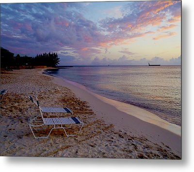 Seven Mile Beach Sunset Metal Print by Carey Chen