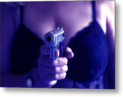 Sex And Crime Metal Print by Franz Roth