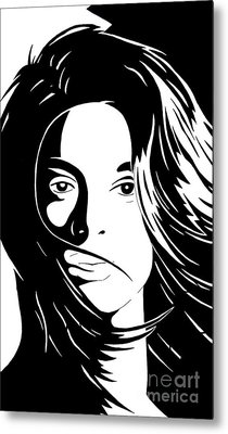 She Is Metal Print by Jack Norton