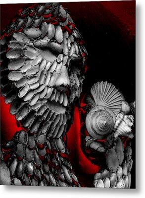 Shell Man Metal Print by Lori Seaman