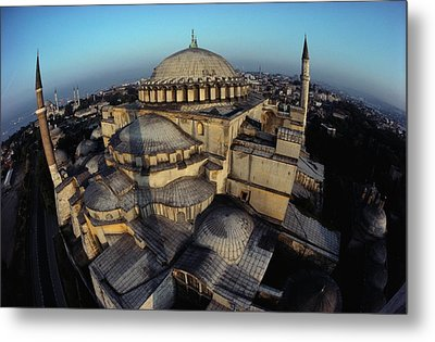 Side Domes And Minarets Gather Metal Print by James L. Stanfield