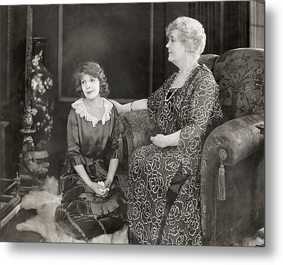 Silent Film Still: Women Metal Print by Granger