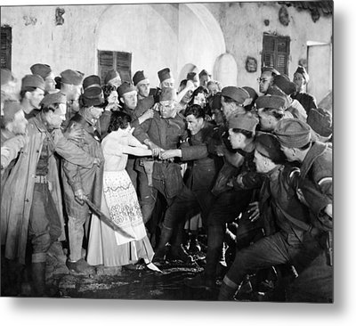 Silent Still: Army & Navy Metal Print by Granger