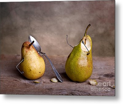 Simple Things 15 Metal Print by Nailia Schwarz