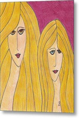 Sisters Metal Print by Ray Ratzlaff