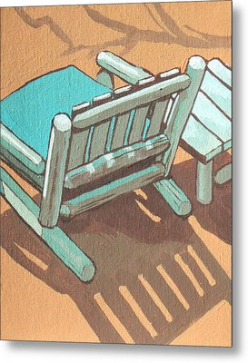 Sit Back And Relax Metal Print by Sandy Tracey