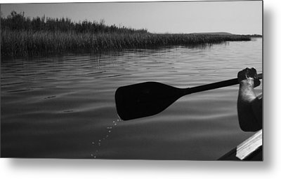 Slow Paddle Metal Print by Ellery Russell
