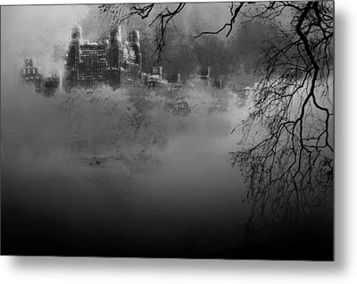 Solitude In Central Park Metal Print by Jeff Burgess