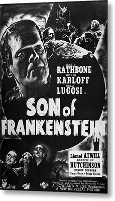 Son Of Frankenstein, 1939 Metal Print by Granger