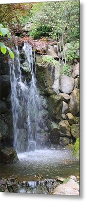 Soothing Waterfall Metal Print by Bruce Bley