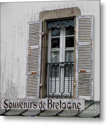 Metal Print featuring the photograph Souvenirs De Bretagne by Lainie Wrightson