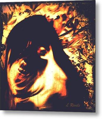 Spectre Metal Print by Leslie Revels Andrews
