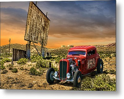 Metal Print featuring the photograph Speed Demon by Michael Cleere