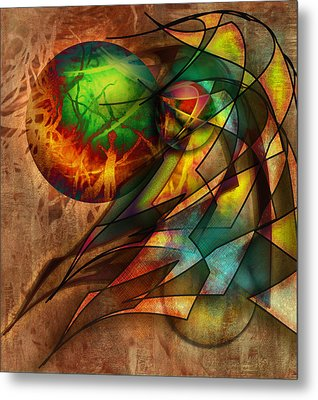 Sphere Of Influence Metal Print by Monroe Snook