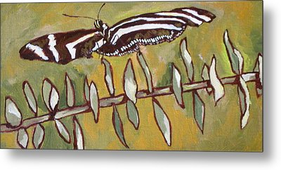 Spreading Your Wings Metal Print by Sandy Tracey