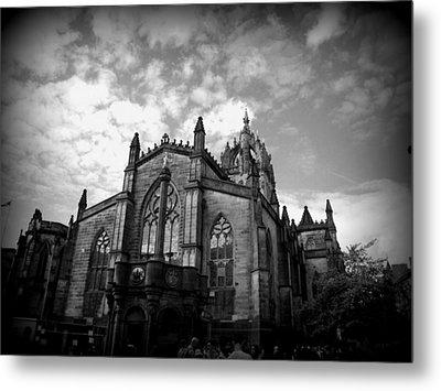 St Giles Cathedral Edinburgh Metal Print by Ian Kowalski