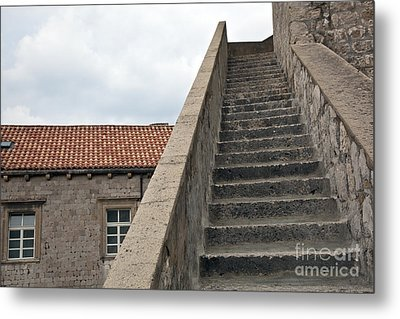 Stairway In Dubrovnik Metal Print by Madeline Ellis