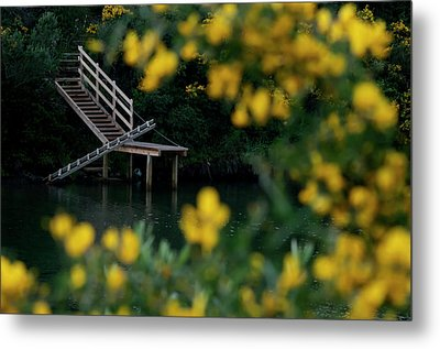 Metal Print featuring the photograph Stairway To Heaven by Pedro Cardona