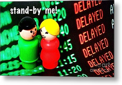 Stand By Me Metal Print by Ricky Sencion