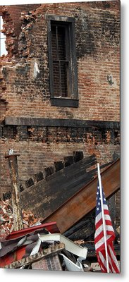 Metal Print featuring the photograph Stand By Me by Wanda Brandon