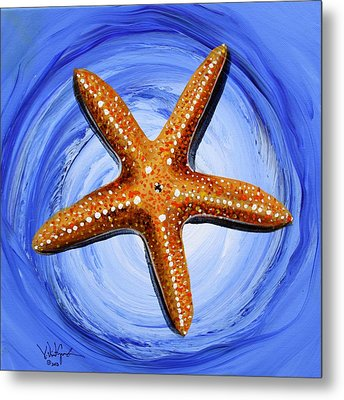 Star Of Mary Metal Print by J Vincent Scarpace
