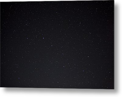 Stars And The Big Dipper On A Clear Metal Print by Taylor S. Kennedy