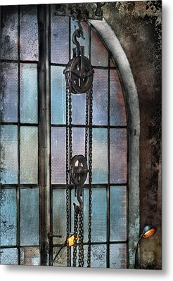 Steampunk - Gear - Importance Of Industry  Metal Print by Mike Savad