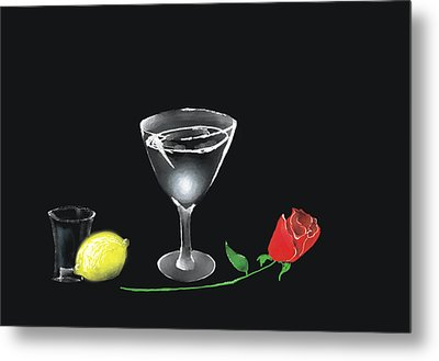 Still Life Metal Print by Larry Cirigliano