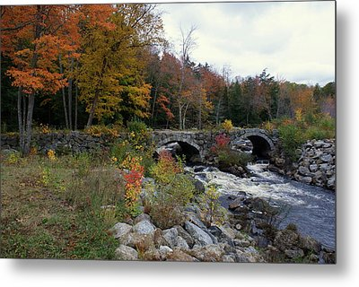 Stone Bridge Autumn 2011 Metal Print