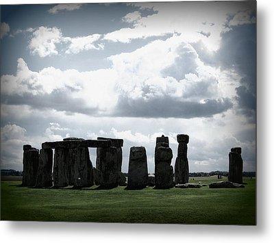 Stonehenge Metal Print by Ian Kowalski