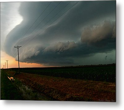 Metal Print featuring the photograph Storm Front by Debbie Portwood