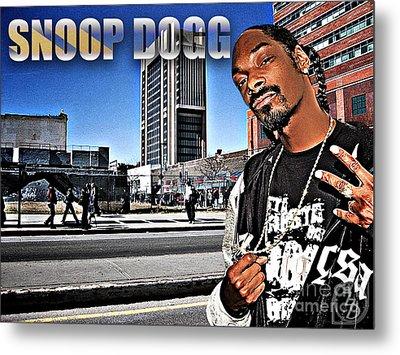 Street Phenomenon Snoop Dogg Metal Print