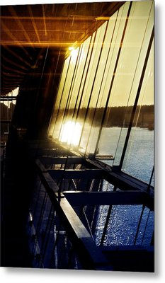 Metal Print featuring the photograph Structural Vision by JM Photography