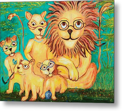 Suddenly I See Metal Print by Linda Diane Taylor