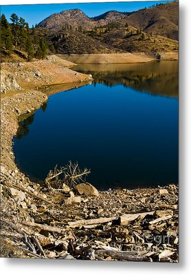 Summer At Seaman's Reservoir Metal Print