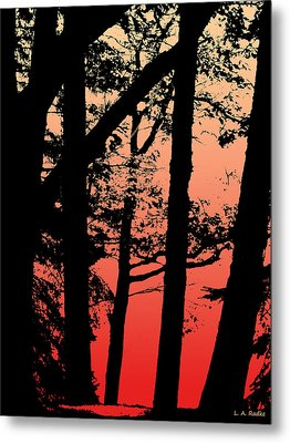 Summer Sunset Metal Print by Lauren Radke