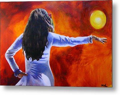 Sun Dancer Metal Print by Jerry Frech