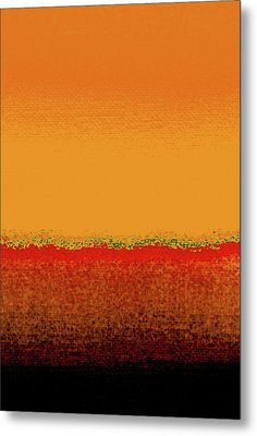 Sunrise In October Metal Print by James Mancini Heath