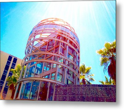 Sunroof Tower Metal Print by Romy Galicia