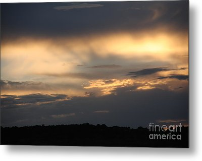 Metal Print featuring the photograph Sunset by Marta Alfred